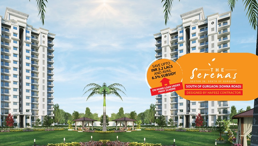 Signature Global The Serenas Affordable Housing Sector 36, South of Gurgaon