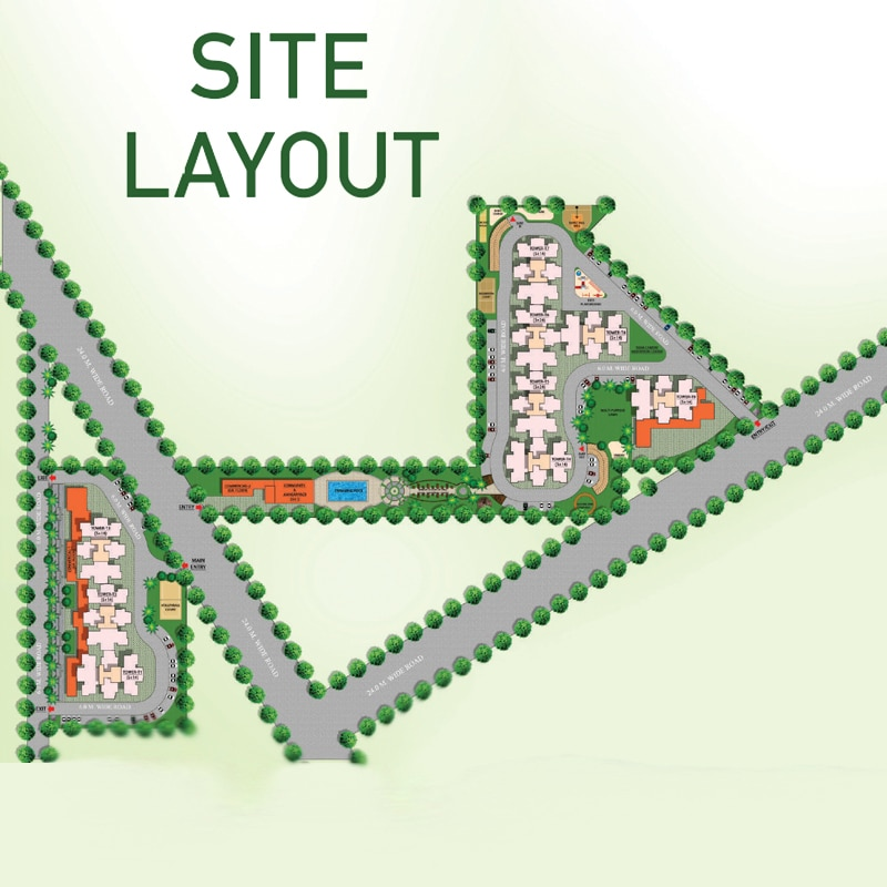 Mahira Homes 95 Site Layout